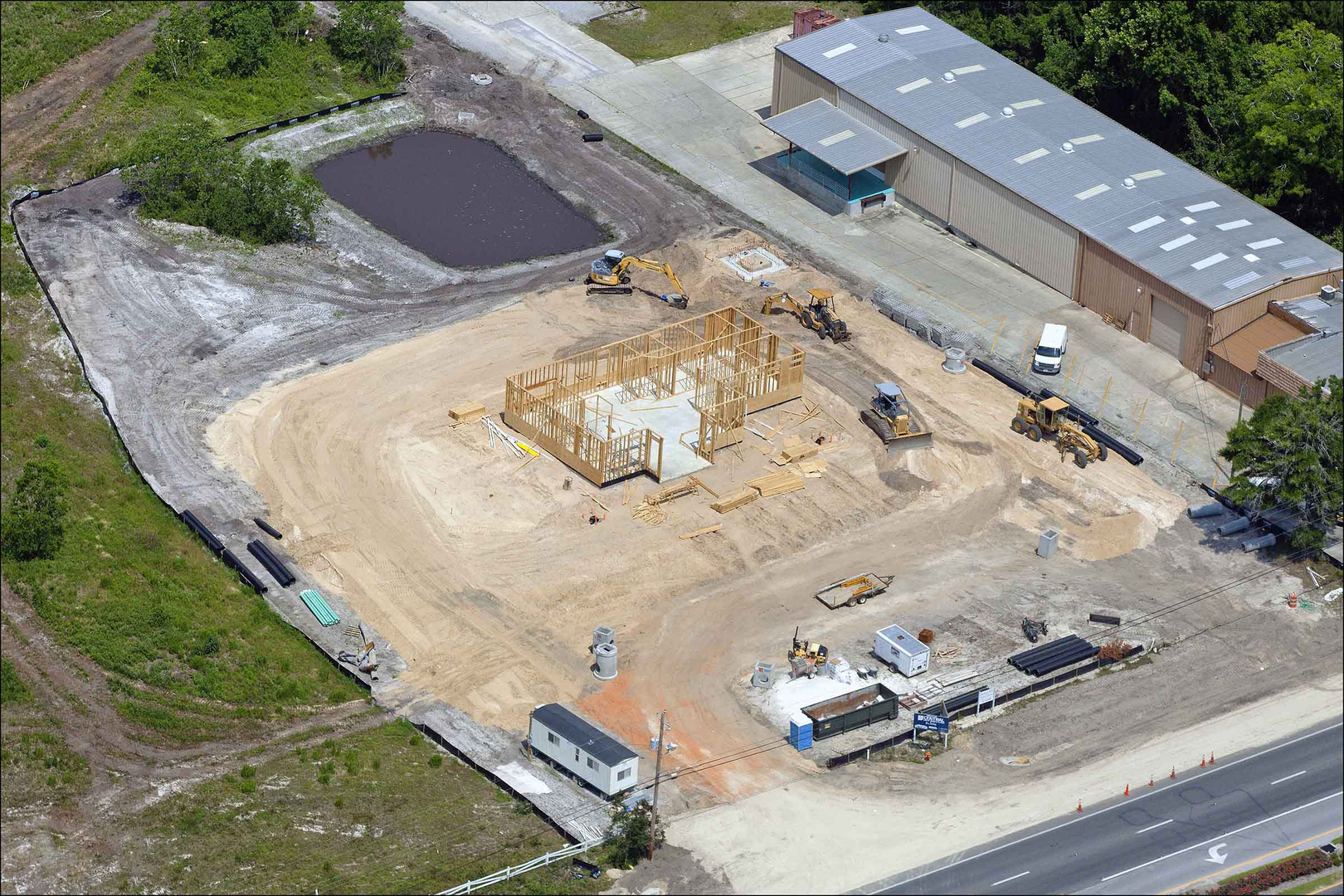 aerial-photo-construction-site
